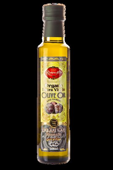 Flavoured extra virgin olive oil Garlic