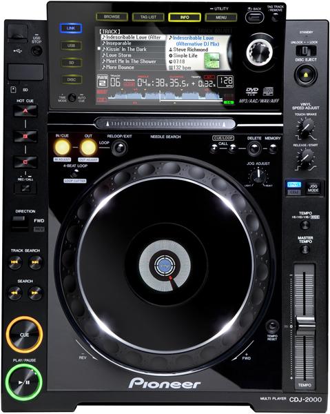 Platine Pioneer CDJ2000