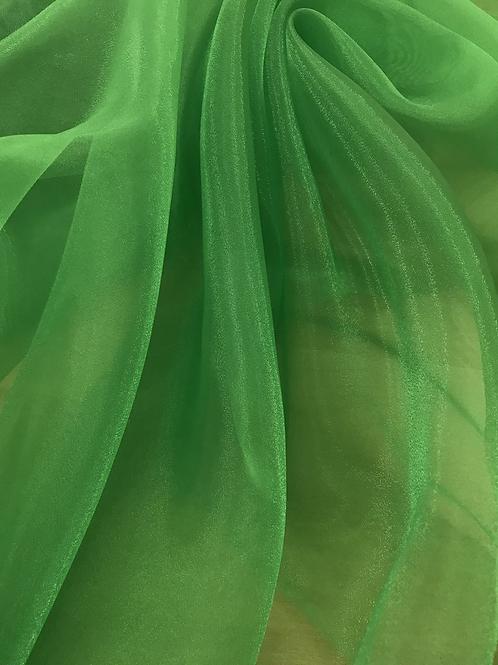 Green - Crystal Organza