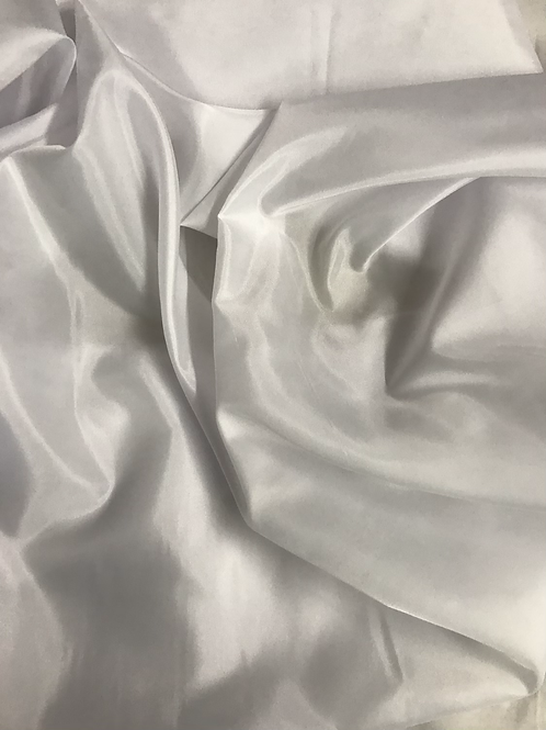 White - Polyester Lining