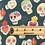 Thumbnail: Día de Muertos Skulls - Teal