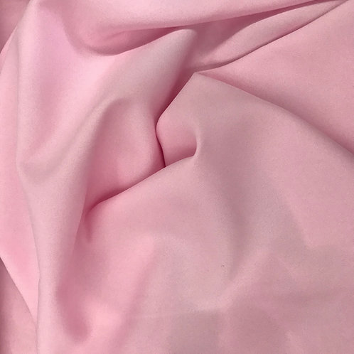 Light Pink Poly Poplin