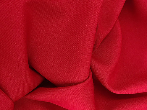 Red - Poly Poplin