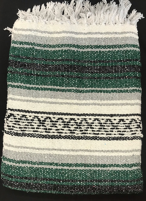 Falsa Blanket -Green and Gray