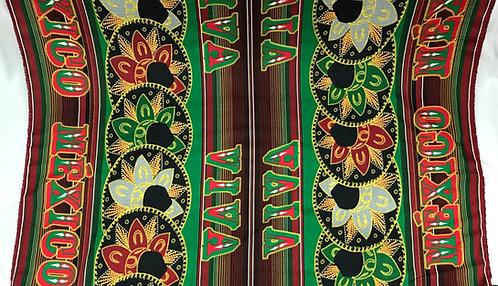 Green Viva Mexico Charro