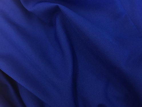 Royal Blue Poly Poplin