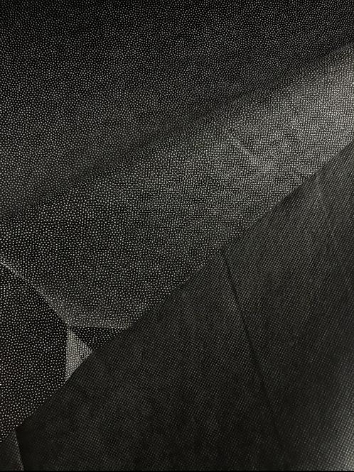 Black - Non Woven Iron on Fusible Interfacing