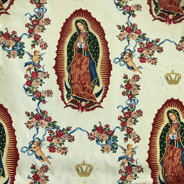 Virgen de Guadalupe fabric