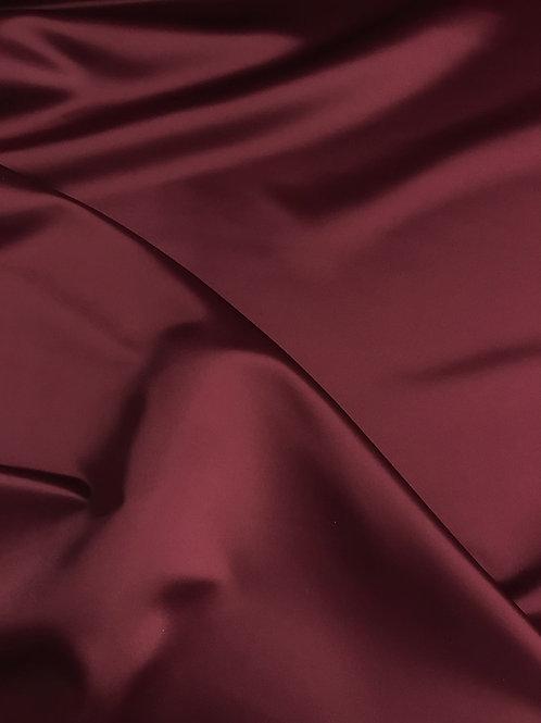 Burgundy - Dull Satin (Peau de Soie)