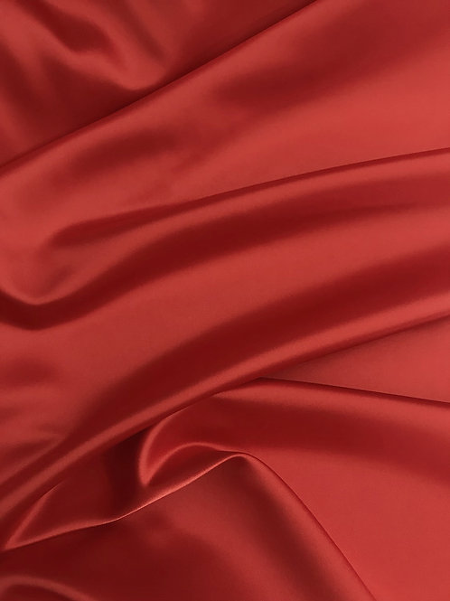 Red - Dull Satin (Peau de Soie)