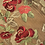 Thumbnail: Red - Embroidered Rose Lace