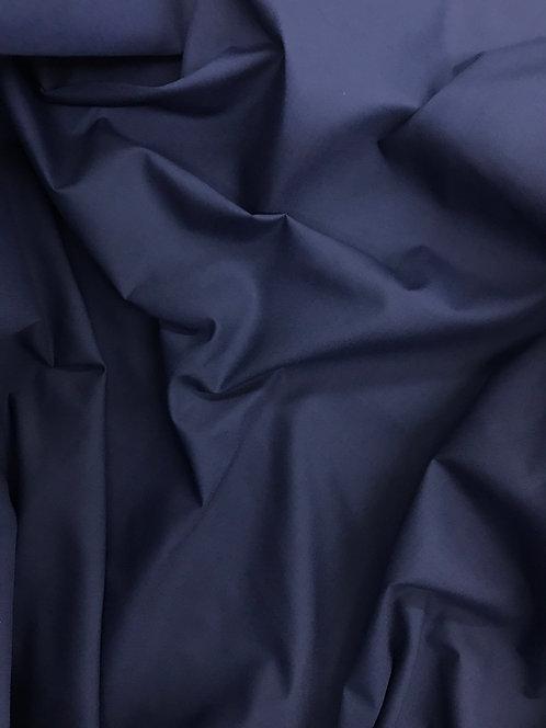 Navy Blue - Poly Cotton