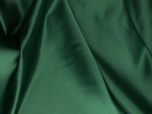 Hunter Green - Dull Satin (Peau de Soie)