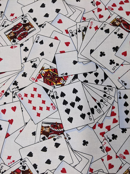 Playing Cards -White