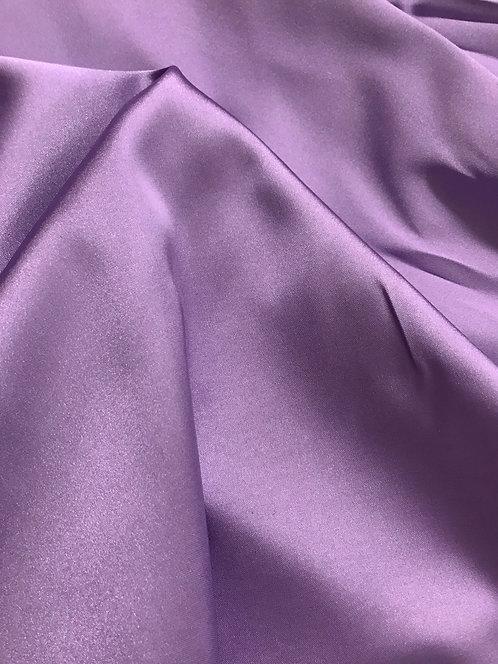 Dark Lilac - Stretch Charmeuse