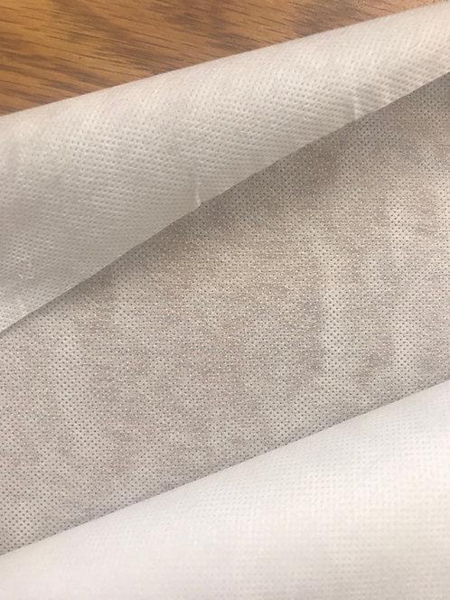 White - Non Woven Iron on Fusible Interfacing