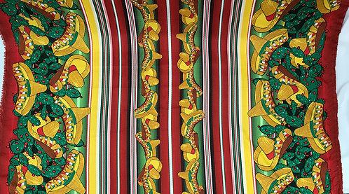 Viva Mexico Green Sombreros