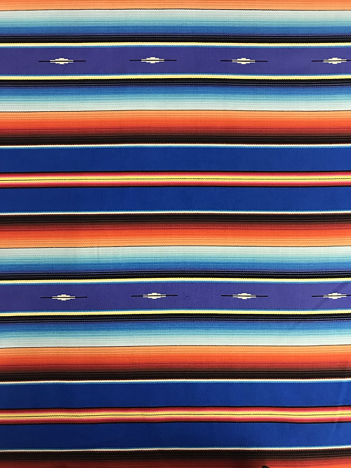 Sarape Stripe - Royal Blue