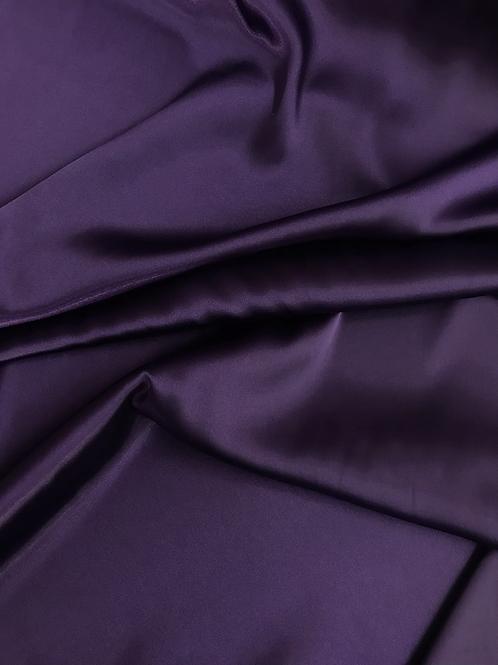 Dark Purple - Charmeuse