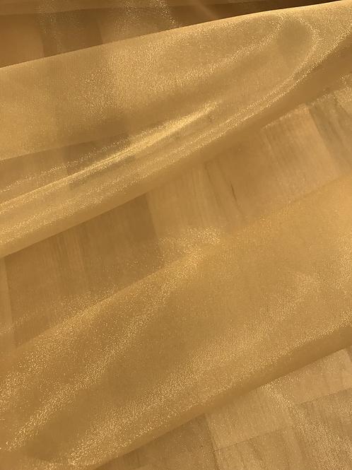 Gold - Crystal Organza
