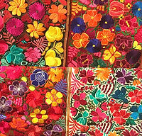 Mexican embroidered runners