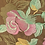 Thumbnail: Pink - Embroidered Rose Lace
