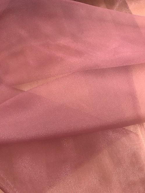 Organza Cristal - Dusty Rose