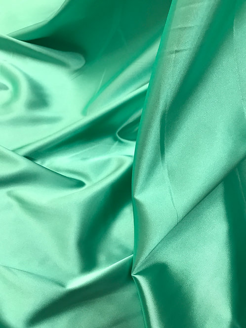 Jade Green - Stretch Charmeuse