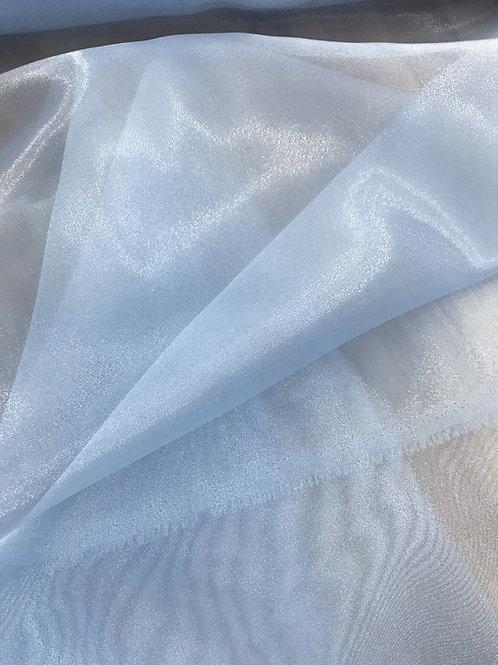 Baby Blue - Crystal Organza