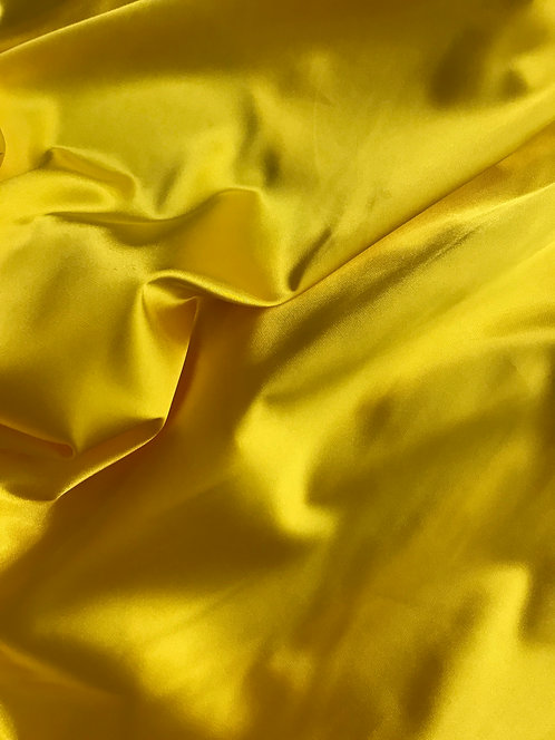 Yellow - Stretch Charmeuse