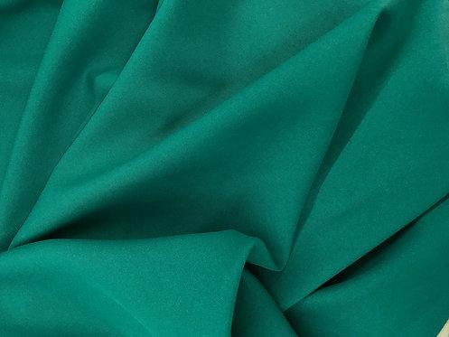 Teal Green Poly Poplin