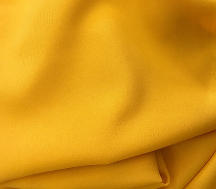Mango Yellow Poly Poplin