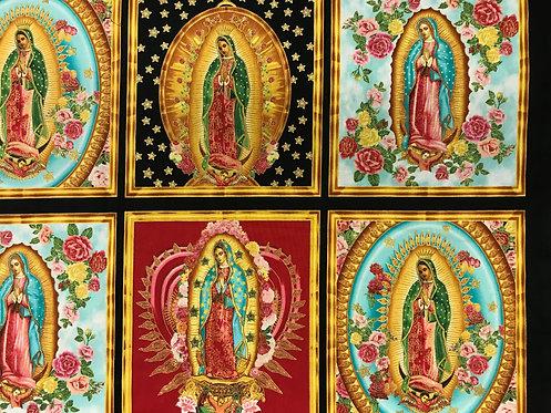 Virgen de Guadalupe Frame - Negro