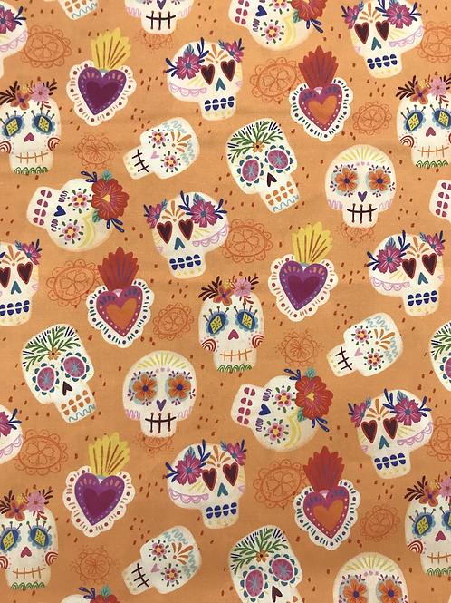 Día de Muertos Skulls - Orange