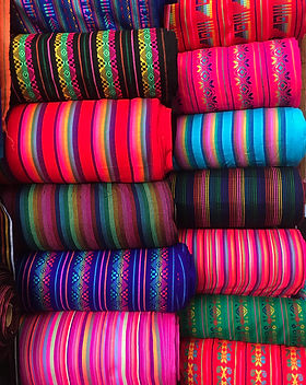 Mexican fabric. Tela mexicana. Cambaya. Ethnic fabric. Sarapes.