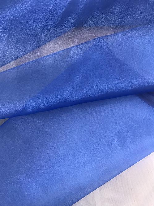 Royal Blue - Crystal Organza