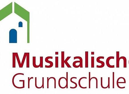 """Wir freuen uns, """"Musikalische Grundschule"""" zu sein!"""