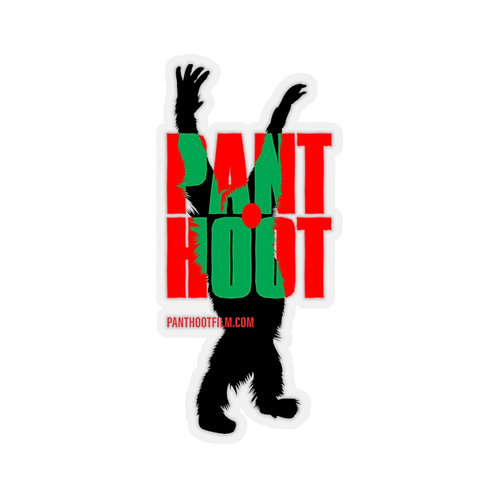 Pant Hoot Cut Stickers