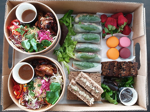 LUNCH CATERING MIXED BOX (SML)
