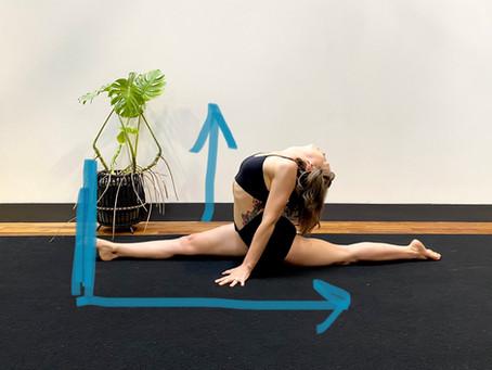 Standing Dancer = Front Splits
