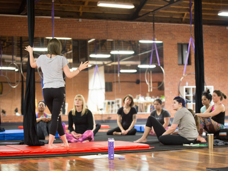 5 Things to Expect in Your First Aerial Class