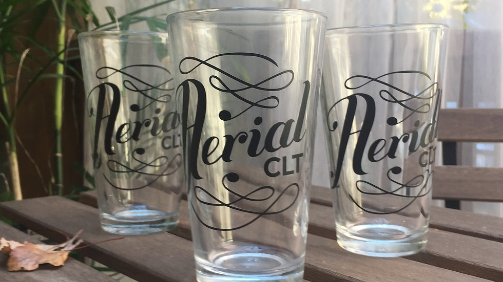 Reclaimed Logo Pint Glass