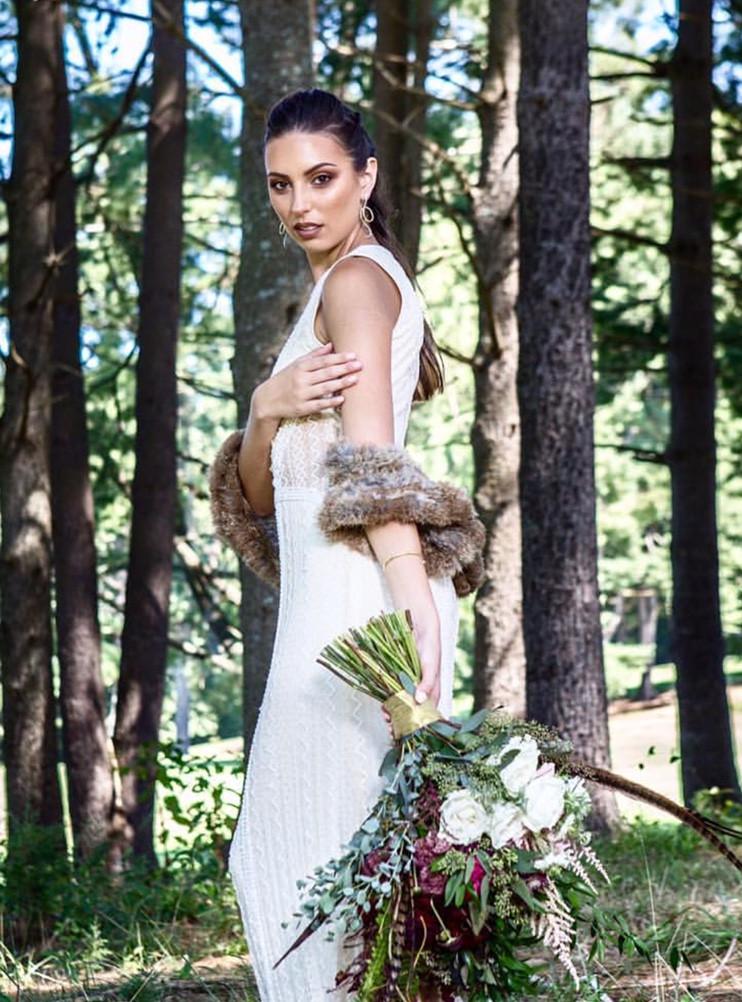Glam Fall Bride