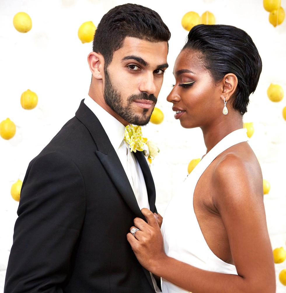 Bridal Pop of Color