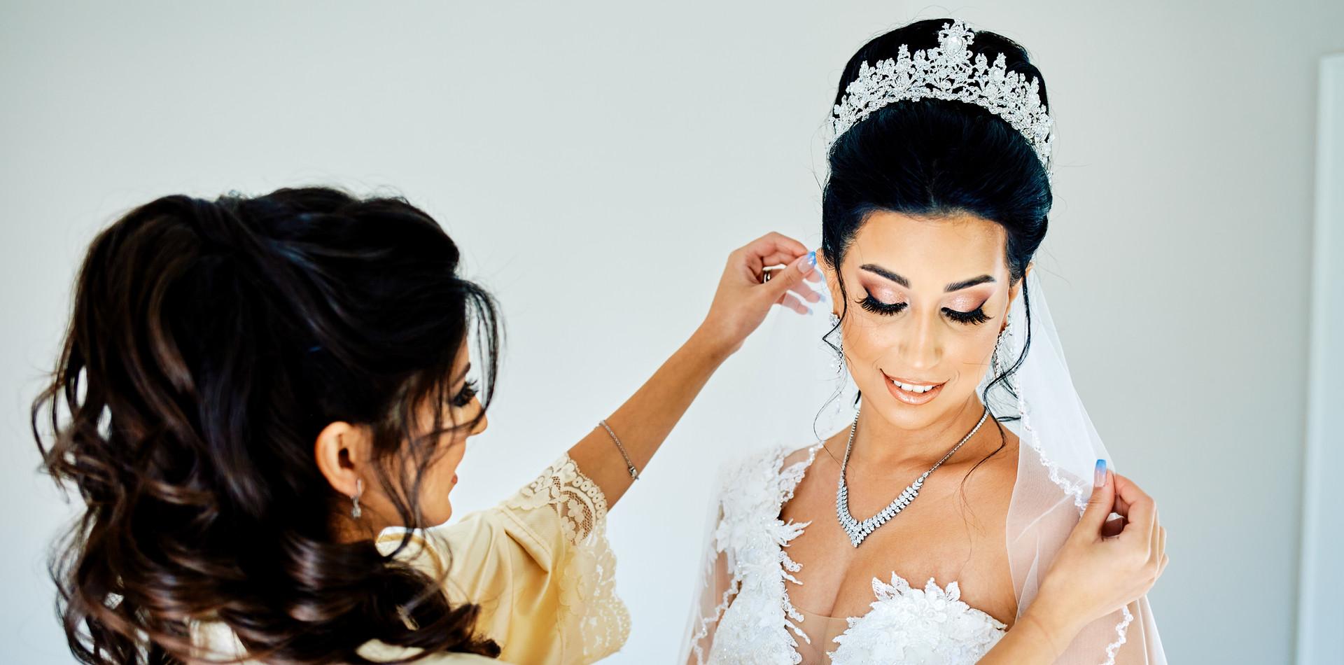 Glam Persian Bride