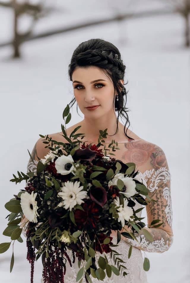 Dramatic Bridal Glam