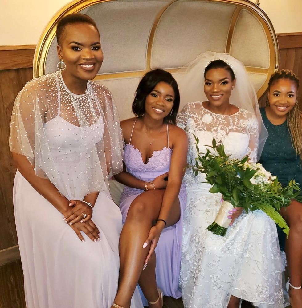 Glam Bride & Bridal Party