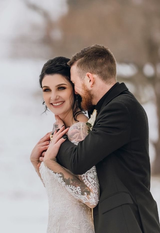 Dramatic Bridal Look