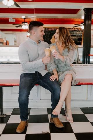 Engagement Shoot Soft Glam
