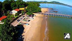 Praia do Trapiche - Penha - SC - Pousada das conchas